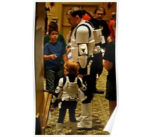 Stormtrooper Take Your Son To Work Poster