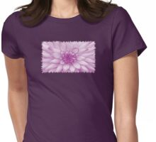 Dahlia Radiant Orchid - JUSTART ©  Womens Fitted T-Shirt