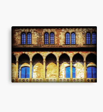 Fortified Arches Canvas Print