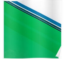 Nautical Green Poster