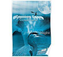 Blue Heron Night - Movie Poster Poster