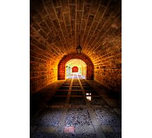 Fortress Tunnels Photographic Print