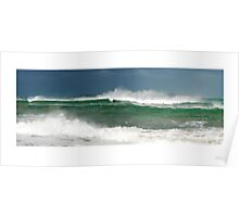 High  Tide at Point Lonsdale  Poster