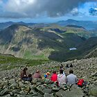 Scafell Pike, Lake District by Nicholas Jermy
