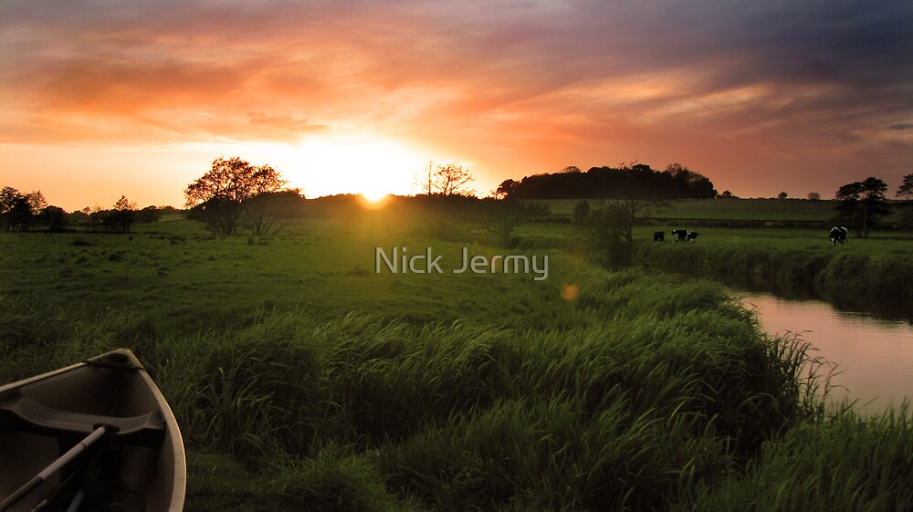 Homersfield Sunset by Nick Jermy