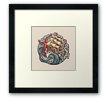The Kraken Framed Print