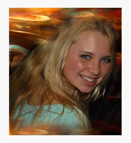 Blond Beauty Photographic Print