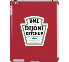 Dijon! Ketchup iPad Case/Skin