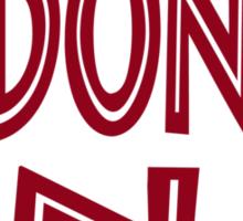 ADONIS DNA Sticker