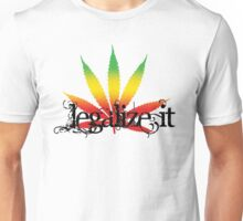 Colorful Legalize It Unisex T-Shirt