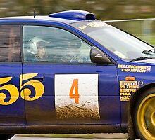 Subaru Impreza 555  by Willie Jackson