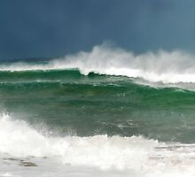 High tide at Point Lonsdale by janetJ