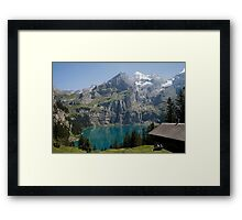 Suisse Postcards - 3 Framed Print