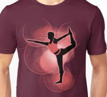 Super Smash Bros. Red Wii Fit Trainer (Female) Silhouette Unisex T-Shirt