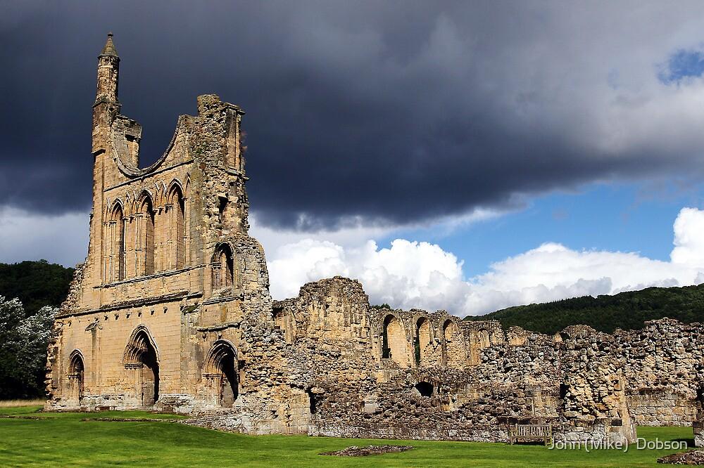Byland Abbey by John (Mike)  Dobson