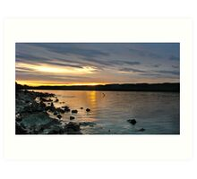 Loch Ness Sunrise Art Print