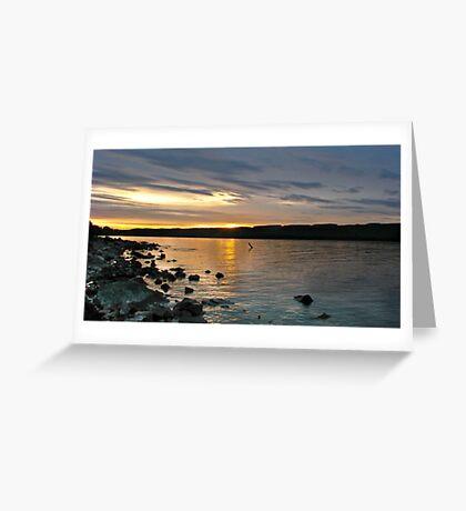 Loch Ness Sunrise Greeting Card
