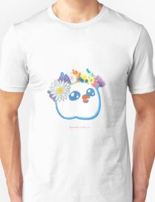 Pandabird in Spring - Orange! Unisex T-Shirt