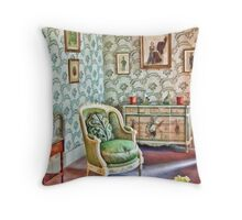 Lady Bailies's Dressing Room Throw Pillow