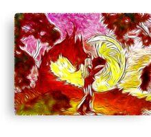 My beautiful firegirl  Canvas Print