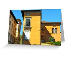 Tuscan Colours - Lucca Greeting Card