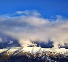 Winter Storm Over the Rockies by rocamiadesign