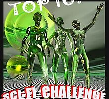 Top 10 in Sci Fi Banner by Nadya Johnson