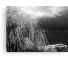 Winter's Dirge Canvas Print