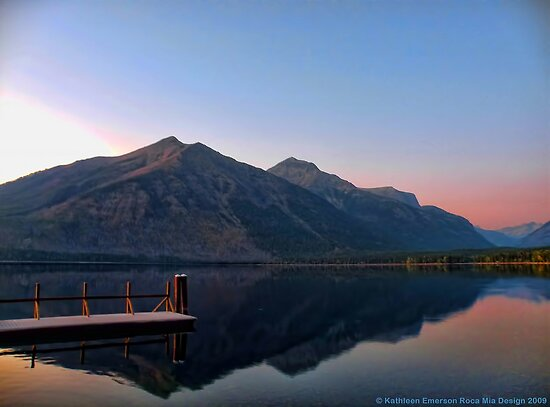 Lake MacDonald 3 by rocamiadesign
