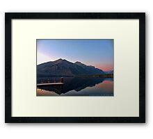 Lake MacDonald 3 Framed Print