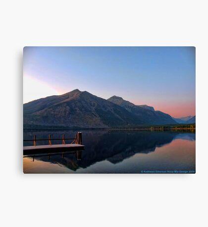 Lake MacDonald 3 Canvas Print