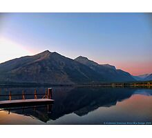 Lake MacDonald 3 Photographic Print