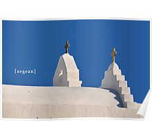 Aegean blue! Poster