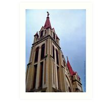 St. Matthew's Church - Kalispell, Montana (USA) Art Print