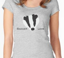 Badger Love Women's Fitted Scoop T-Shirt