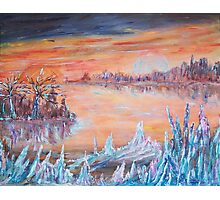 Ice Planet  Photographic Print