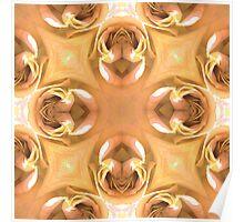 Golden Rose Wallpaper Poster