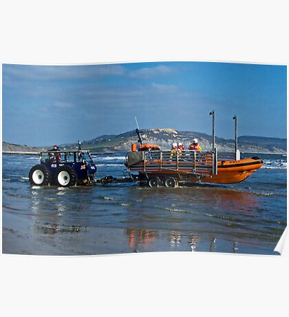 Bringing In The Lifeboat Poster