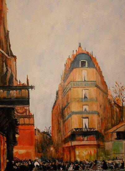 Le Grande Boulevard from Luigi Loir 1888 by Jsimone