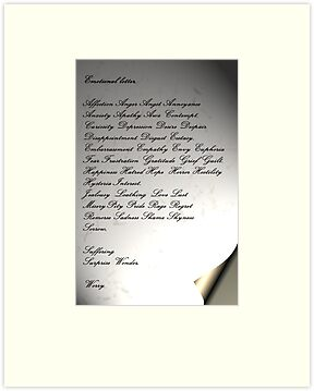 The Emotional Letter by patjila