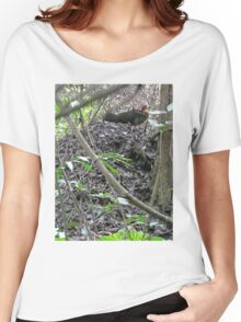 Australian Brush Turkey on his mound Women's Relaxed Fit T-Shirt