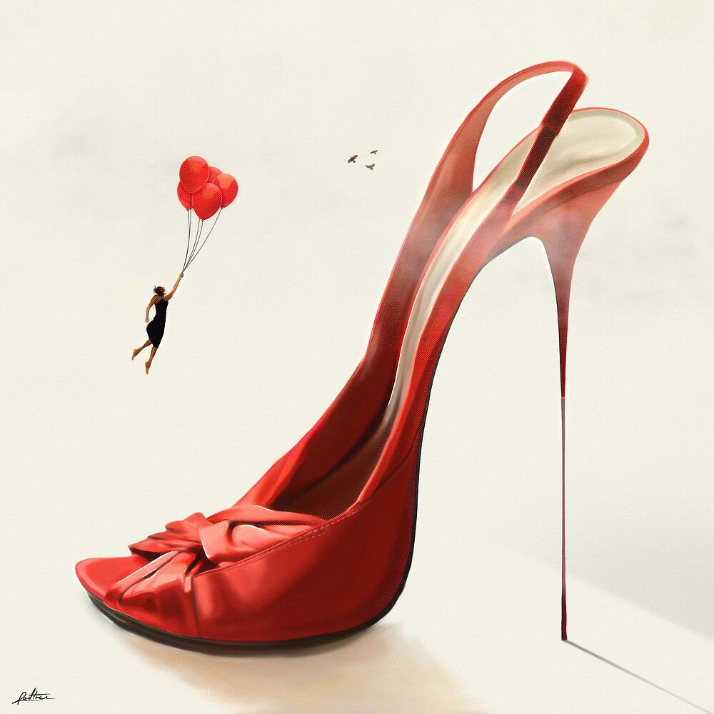 Stiletto by redtree