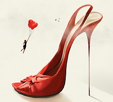Stiletto by redtree