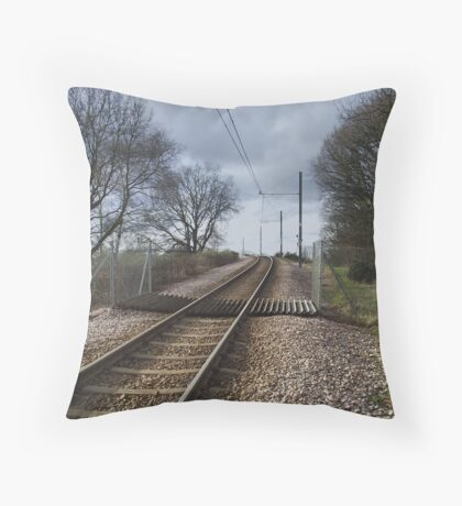 Where's the tram when you want one ? Throw Pillow