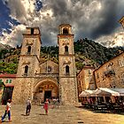 Old town of Kotor, Montenegro by Reuven Brenner