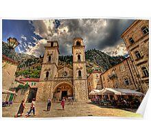 Old town of Kotor, Montenegro Poster