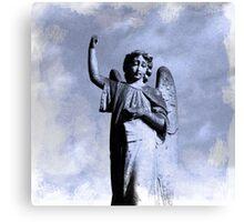 Angel so sad.. Canvas Print