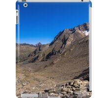 Looking down from the Sulzenauferner iPad Case/Skin