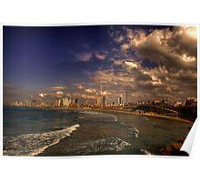 Tel Aviv Promenade Poster