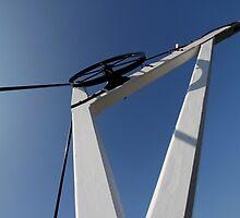 19th Centry Crane - Newbury Warf by Samantha Higgs